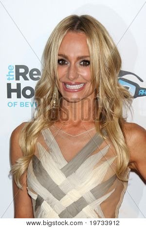 "LOS ANGELES - OCT 11:  Taylor Armstrong arrives at the ""Real Housewives of Beverly Hlls"" Premiere Party at Trousdale.Theatre on October 11, 2010 in West Hollywood, CA"