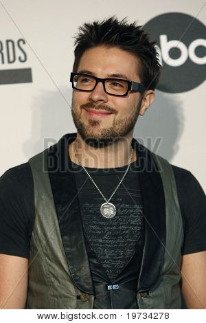 LOS ANGELES - OCT 12:  Danny Gokey  at the 2010 American Music Awards Nominations Press Conference  at The Mixing Room - JW Marriott on October 12, 2010 in Los Angeles, CA