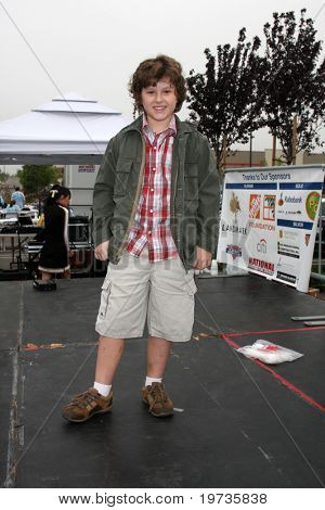 LOS ANGELES - OCT 16:  Nolan Gould at the Habitat for Humanity San Fernando/Santa Clarita Valley's