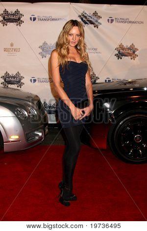 LOS ANGELES - OCT 22:  Natasha Alum arrives at the