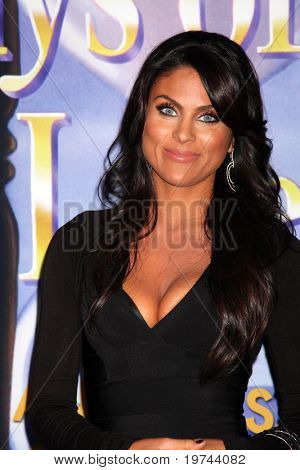 LOS ANGELES - NOV 6:  Nadia Bjorlin arrives at the Days of Our Lives 45th Anniversary Party at House of Blues on November 6, 2010 in West Hollywood, CA