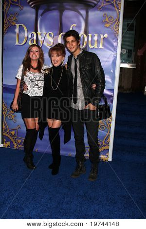 LOS ANGELES - NOV 6:  Molly Burnett, Casey Deidreck, Suzanne Rogers arrives at the Days of Our Lives 45th Anniversary Party at House of Blues on November 6, 2010 in West Hollywood, CA
