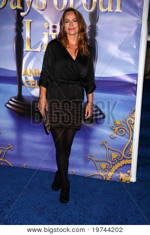 LOS ANGELES - NOV 6:  Crystal Chappell arrives at the Days of Our Lives 45th Anniversary Party at House of Blues on November 6, 2010 in West Hollywood, CA
