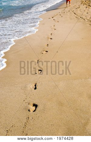 Steps In Sand