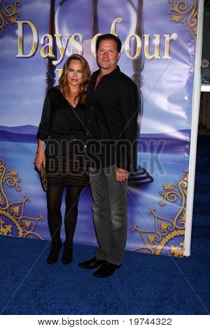 LOS ANGELES - NOV 6:  Crystal Chappell, Michael Sabatino arrives at the Days of Our Lives 45th Anniversary Party at House of Blues on November 6, 2010 in West Hollywood, CA