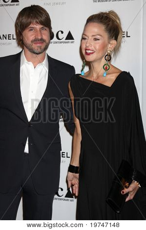 LOS ANGELES - NOV 13:  Rodger Berman, Rachel Zoe arrive at the MOCA's Annual Gala