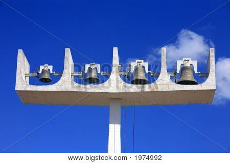 Bells Of Cathedral Of Brasilia