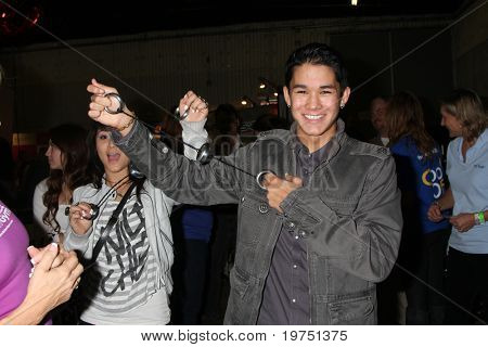 LOS ANGELES - NOV 20:  BooBoo Stewart at the Connected's Celebrity Gift Suite celebrating the 2010 American Music Awards at Ben Kitay Studios on November 20, 2010 in Los Angeles, CA