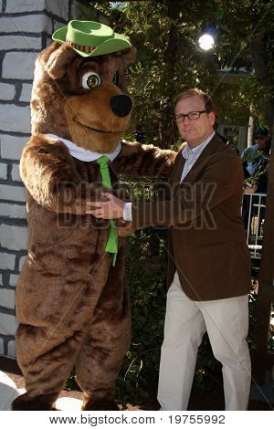"LOS ANGELES - DEC 11:  Andrew Daly  arrives at the ""Yogi Bear 3-D"" Premiere at The Village Theater on December 11, 2010 in Westwood, CA."