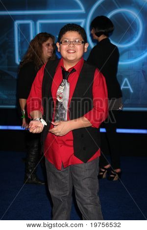 LOS ANGELES - DEC 11:  Rico Rodriguez arrives at the