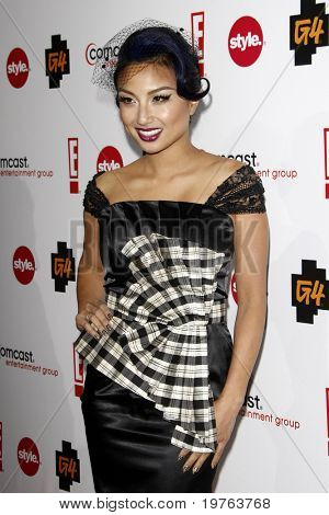 LOS ANGELES - JAN 5:  Jeannie Mai arrives at the Comcast Entertainment Group Television Critics Association Cocktail Reception at Langham Hotel on January 5, 2011 in Los Angeles, CA