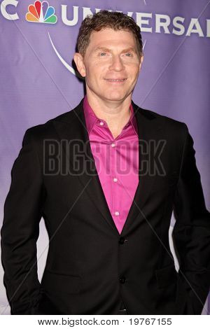 PASADENA, CA - JAN 13:  Bobby Flay arrives at the NBC TCA Winter 2011 Party at Langham Huntington Hotel on January 13, 2010 in Pasadena, CA