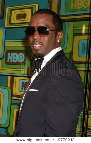BEVERLY HILLS - JAN 16:  Sean Combs arrives at the HBO Golden Globe Party 2011 at Circa 55 at the Beverly Hilton Hotel on January 16, 2011 in Beverly Hills, CA