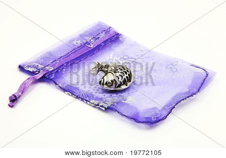 Fish Ring On Gift Bag