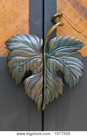Grape Leaf Door Handele