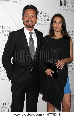 LOS ANGELES - JAN 29:  Benjamin Bratt, Talisa Soto arrives at the Valley Performing Arts Center Opening Gala at California State University, Northridge on January 29, 2011 in Northridge, CA