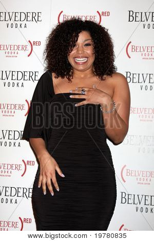 LOS ANGELES - FEB 10:  Jordin Sparks arrives at the Belvedere RED Special Edition Bottle Launch at Avalon on February 10, 2011 in Los Angeles, CA