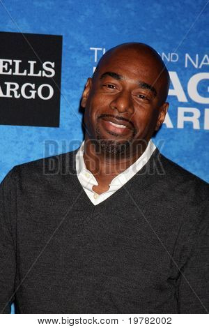LOS ANGELES - FEB 12:  Michael Elliot arrives at the 2011 NAACP Image Awards Nominee Reception at Beverly Hills Hotel on February 12, 2011 in Beverly Hills, CA