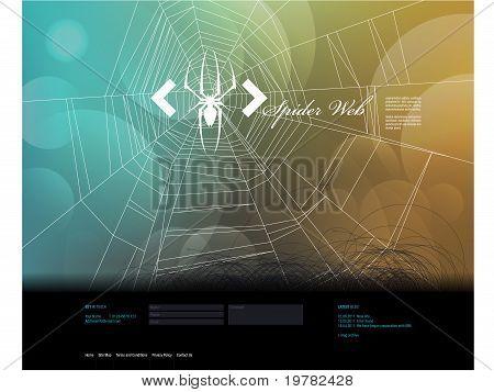 Ontwerpsjabloon website