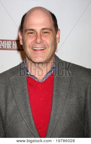 LOS ANGELES - FEB 20:  Matthew Weiner arrives at the 24 Hour Hollywood Rush at Ebell Theater on February 20, 2011 in Los Angeles, CA