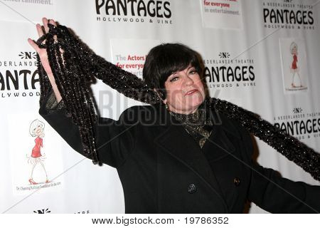 LOS ANGELES - FEB 21:  JoAnne Worley arrives at a performance celebrating Carol Channing's 90th birthday at Pantages Theater on February 21, 2011 in Los Angeles, CA