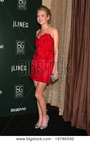LOS ANGELES - FEB 22: Britt Robertson kommt am 13. jährliche Costume Designers Guild Awards am