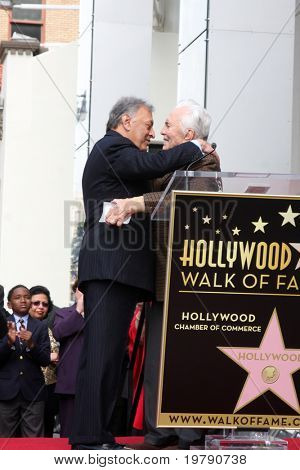 LOS ANGELES -  MARCH 1:  Maestro Zubin Mehta & Kirk Douglas attend the Hollywood Walk of Fame Star Ceremony honoring Mehta on March 1, 2011 in Los Angeles, CA. Mehta's star is on Vine Street, south of Hollywood Blvd.