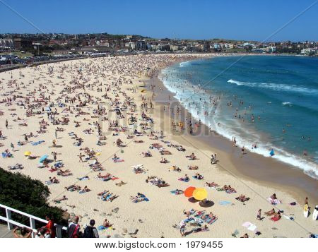 Boxing Day On Bondi Beach