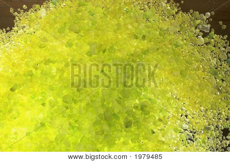 Yellow Salt For A Bath