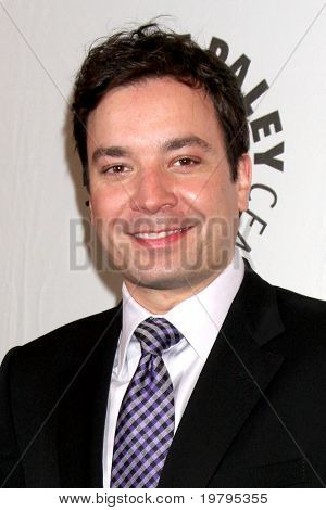 LOS ANGELES - MAR 11:  Jimmy Fallon arrives at the