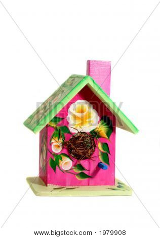 Decirated Bird House