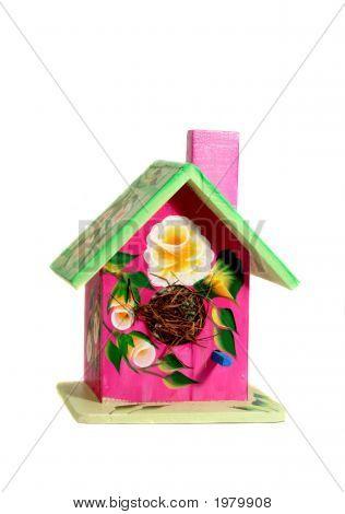 Decirated Bird House