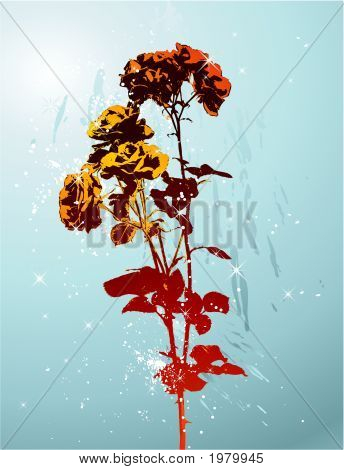 Red Vector Rose