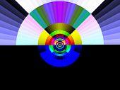 Pop Art Rainbow At Dawn poster