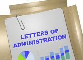 Letters Of Administration - Business Concept poster