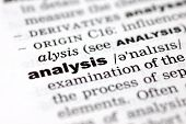 Definition Of Analysis