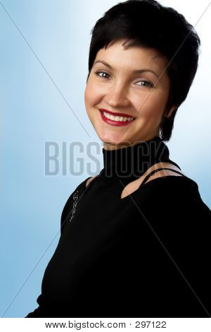 Smiling Young Woman.