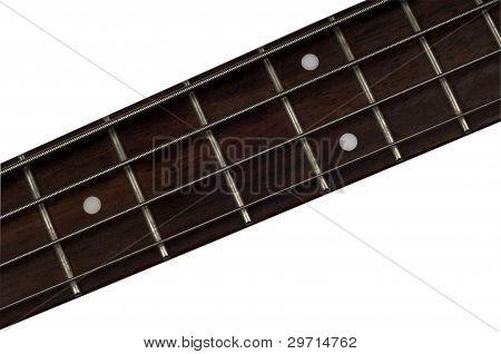Bass Guitar Fretboard