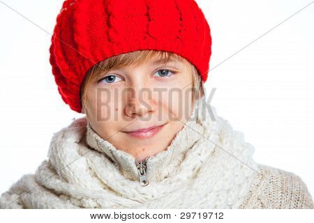 Boy in the red hat