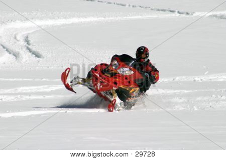 Free-style Snowmobiler