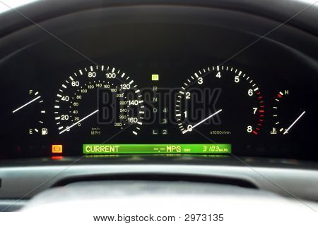 Car Speedo Display