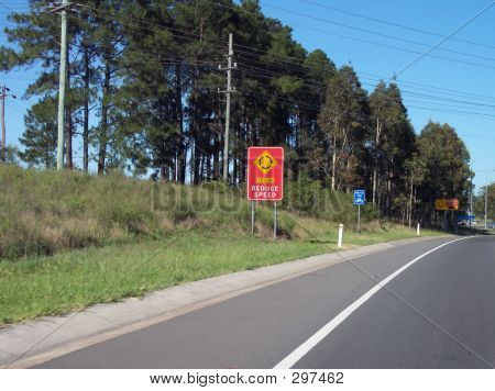 Multiple Road Signs