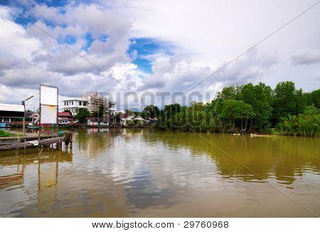 Fishing village in Trad- Thailand