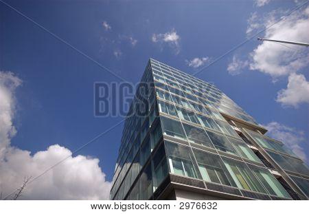 Business Corner Sky Blue