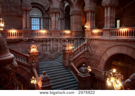 Upper Level Of The Million Dollar Staircase