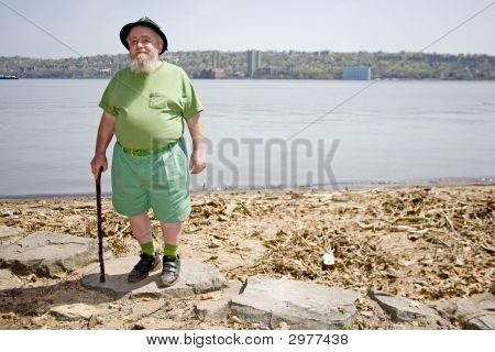 Leprechaun At The Shore