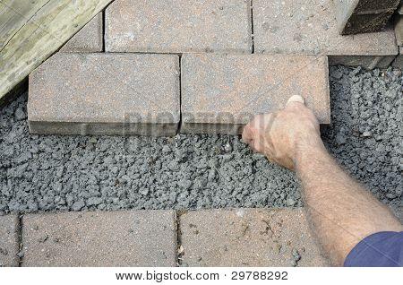 Installing Pavers