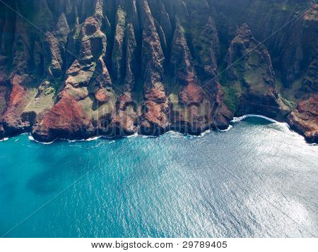 Na Pali Coast Of Kauai