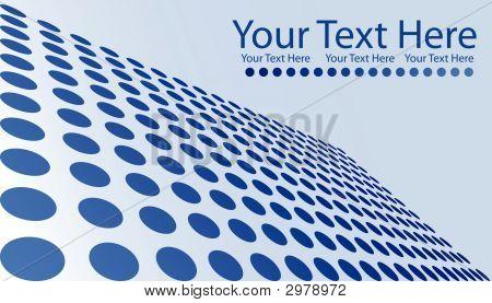 Blue Dots Business Card