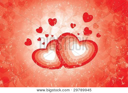 Heart Symbols Showing The Emotion Of Love And Romance